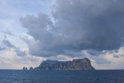 View of Capri, Campania, Italy