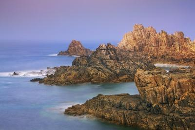 Rocky Coastline at Pointe De Creac'h, Ouessant, Finistere, Brittany, France