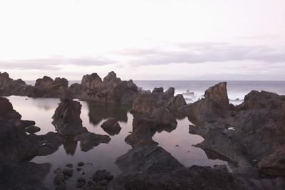 Sea at Dusk, Puerto De Santiago, Tenerife, Canary Islands, Spain