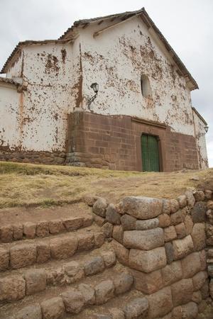 Chinchero, Peru Catholic Church Built on Inca Foundation