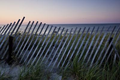 Fence in Sand Dunes, Cape Cod, Massachusetts