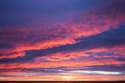 Sunrise Clouds, Hudson Bay, Canada