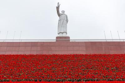 Mao Zedong Statue, Chengdu, Sichuan Province, China