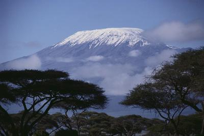 Mount Kilimanjaro, from Amboseli National Park