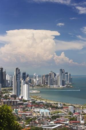 View of Panama City from Cerro Ancon.