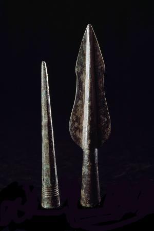 Etruscan Art : Bronze Spears