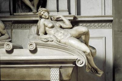 Allegory of the Dawn, by Michelangelo