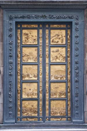 Le Porte Del Paradiso, East Side of Baptistery, by Lorenzo Ghiberti