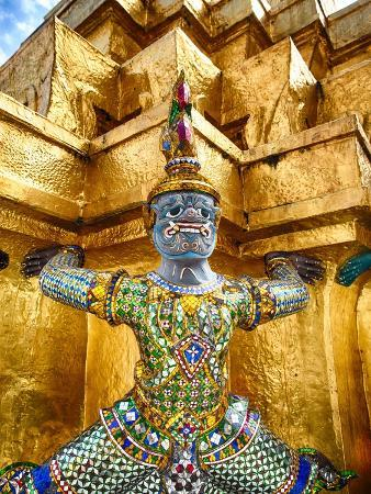 Yaksha at Wat Phra Kaeo the Grand Palace