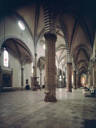 Interior of the Church Santa Maria Novella