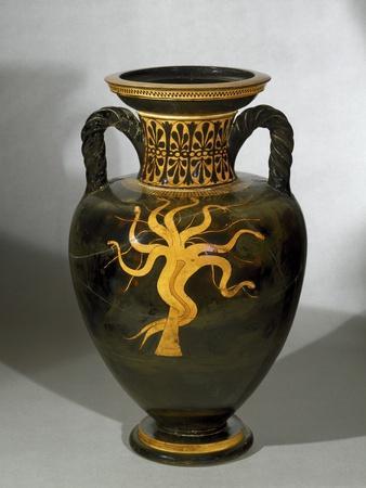 Greek Art : Terracotta Red-Figure Pelike, by Euphronios