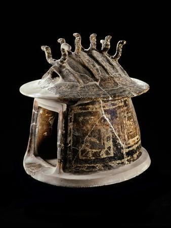 Etruscan Civilization : Hut-Shaped Cinerary Urn