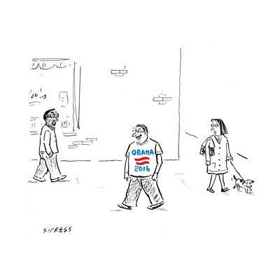 Obama 2016 - Cartoon