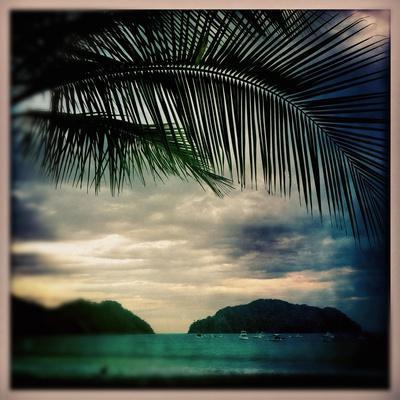 Sunset in Playa Herradura Costa Rica