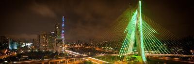 Sao Paulo City At Night