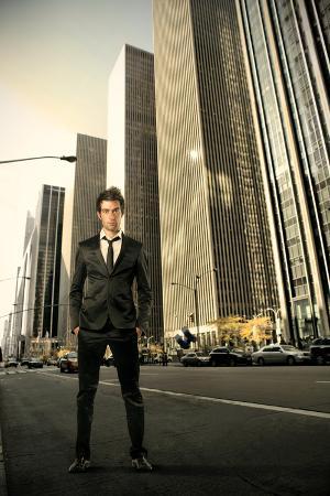 Businessman on a New York City Street