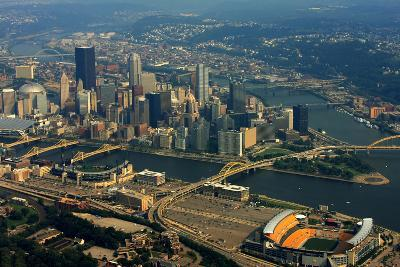 Pittsburgh Pennsylvania Aerial View