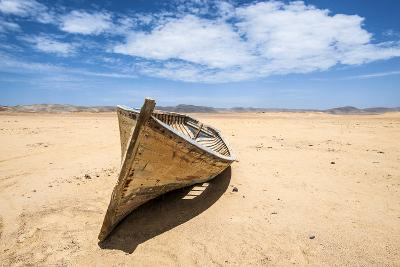 Boat in the Desert, Paracas National Reserve, Peru