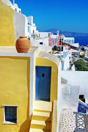 Colors of Greece Series - Santorini, Traditional Cycladic Architecture