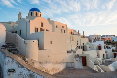 The Famous Blue and White City Oia,Santorini