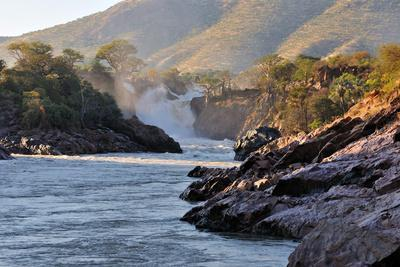 Sunrise at the Epupa Waterfall, Namibia