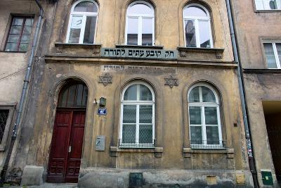 The City of Krakow in Poland. Jewish Synagogue