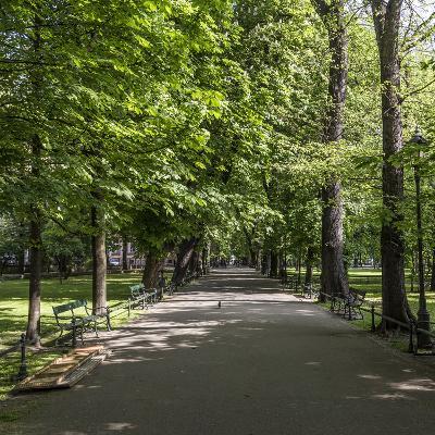 Parc Planty in Krakow, Poland
