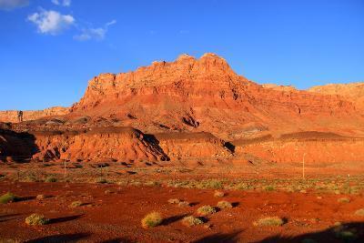 Scenic Vermilion Cliffs National Park Area between Arizona and Utah
