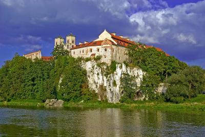 Benedictine Abbey in Tyniec against A Blue Sky