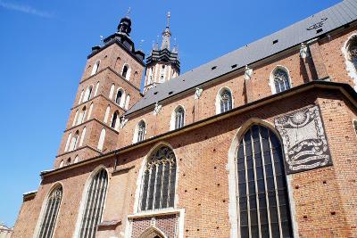 St. Mary's Church in Krakow, Poland.