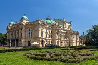 Juliusz Slowacki Theatre in Krakow - Poland