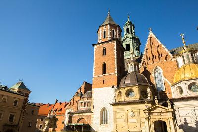 On Territory of Royal Palace in Wawel in Krakow, Poland.