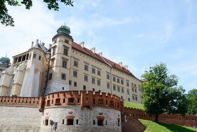 Ssigismund III Vasa Tower of Wawel Fortress in Krakow,Poland