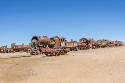 Cementerio De Trenes (Train Cemetery), Salar De Uyuni, Bolivia