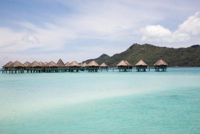 Over-Water Bungalows and Lagoon.