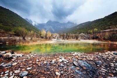 Blue Moon Valley at Lijiang, China