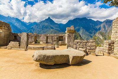 Inca Wall in Machu Picchu, Peru, South America. Example of Polygonal Masonry. the Famous 32 Angles