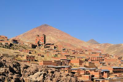 Cerro Rico Mountain with Silver Mines