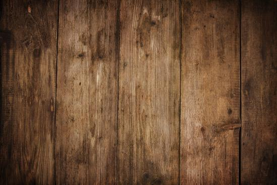 Wood Texture Plank Grain Background, Wooden Desk Table or ...