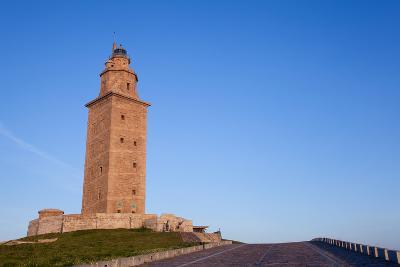 Hercules Tower, La Coruna, Galicia, Spain