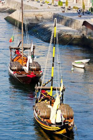Typical Boats (Rabelos), Porto, Portugal