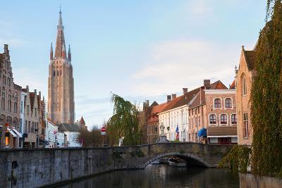 Scene of Old Town, Bruges