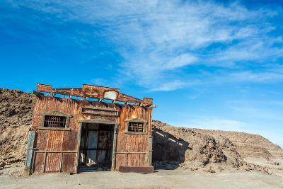 Building in Ghost Town of Humberstone