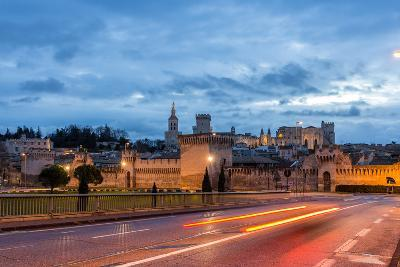 View of Medieval Town Avignon at Morning, Unesco World Heritage