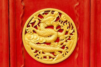 Imperial Dragons in Forbidden City, Shenyang China