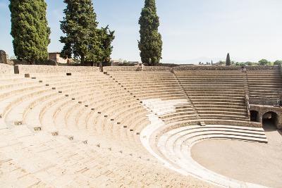 Amphitheater in Ancient Pompeii