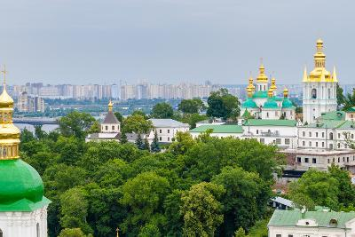View of Kiev Pechersk Lavra, the Orthodox Monastery Included in Unesco World Heritage List. Ukraine