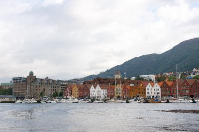 Cityscape of Bergen, Norway