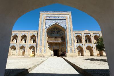 Mohammed Rakhim Khan Medressa in Itchan Kala (Ichon Qala) - Khiva (Chiva, Heva, Xiva, Chiwa, Khiveh