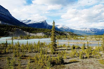 North Saskatchewan River,Canadian Rockies,Canada